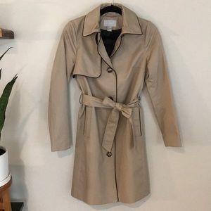 NWOT H&M Khaki Trench Coat
